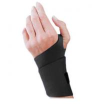 Safe-T-Sport Neoprene Wrist Support, Black Neoprene