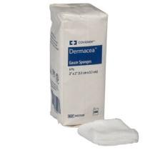 Covidien 442308 Dermacea 2 x 2 Inch Gauze Sponge 8 Ply