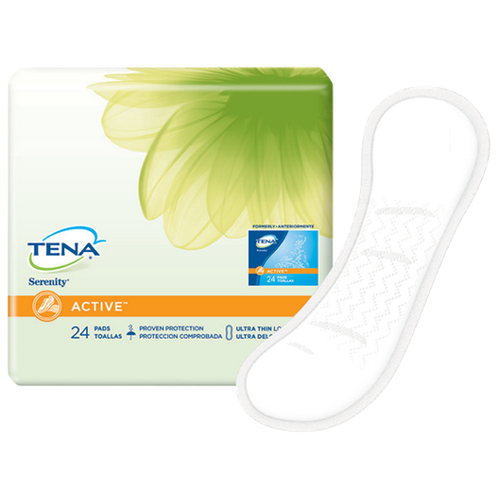 TENA Serenity Anywhere Ultra Thin Pads Long