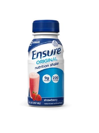8 Oz Bottles Ensure Original Nutrition Shakes Abbott