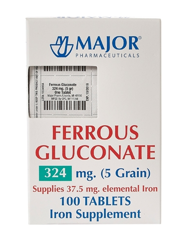 major pharmaceuticals iron supplement be6
