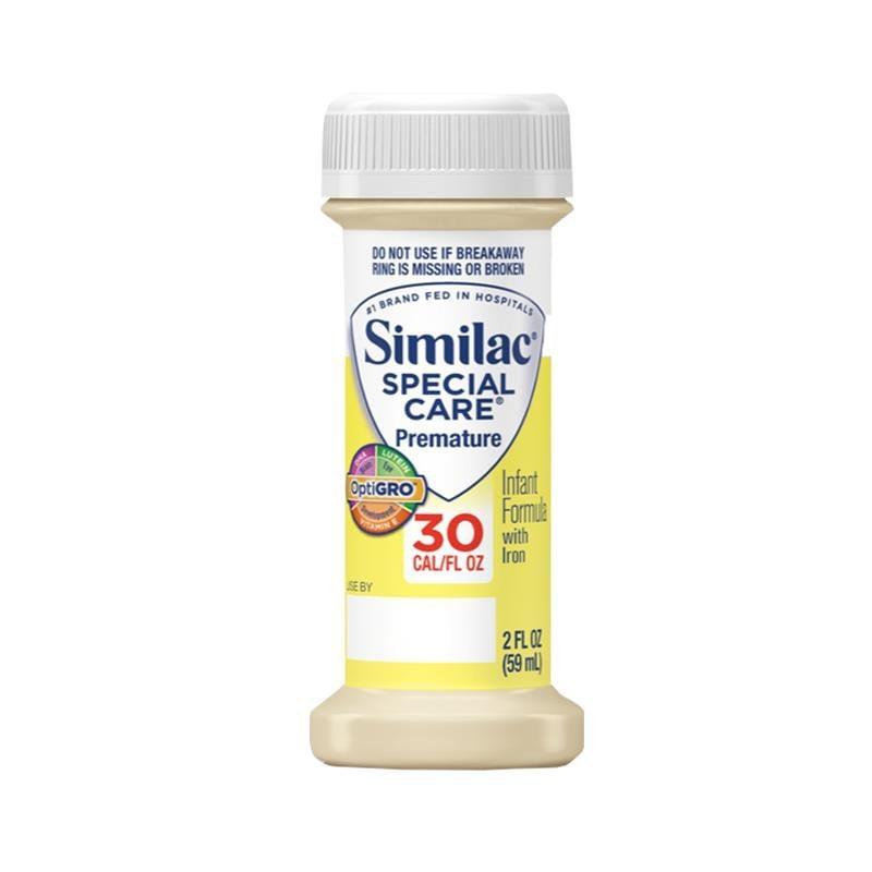 similac special carereg 30 premature infant formula iron optigro 0fc