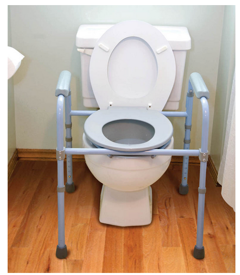 Commode Toilet Folding Commode Carex Commode - BUY on SALE Folding ...
