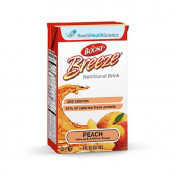 BOOST BREEZE Fruit Nutritional Drinks Peach - 8 oz