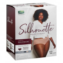 Depend Silhouette Incontinence Underwear for Women - Maximum Absorbency