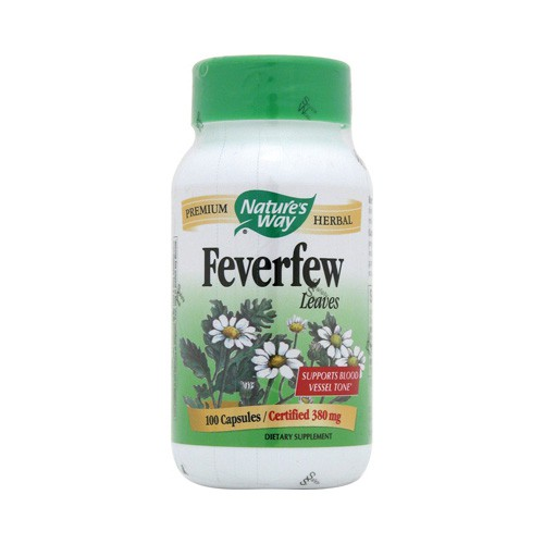 Nature's Way Feverfew Leaves