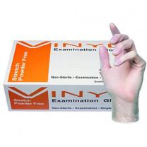 SKINTX Powder-Free Stretch Vinyl Exam Gloves