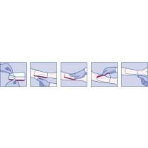 Leukomed T Transparent Film Dressing 7238101 | 3-1/8 x 4 Inch by BSN