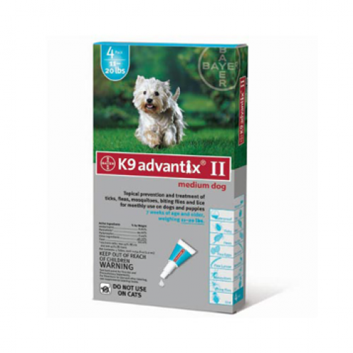 K9 Advantix II Flea and Tick Control for Dogs
