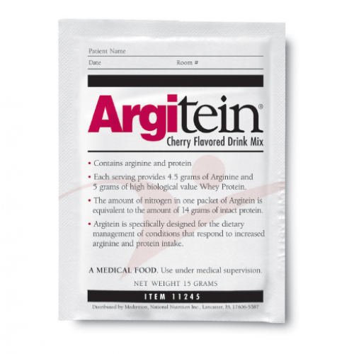 Argitein Medical Food for Early Skin Breakdown, 15 grams, Cherry Flavored