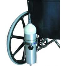 Oxygen Tank Holder for Wheelchairs