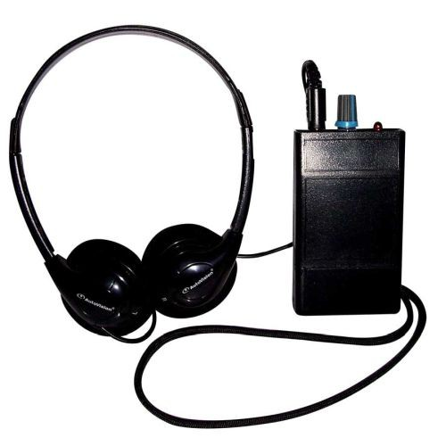 Oval Window HLR III Induction Loop Receiver with Headphones