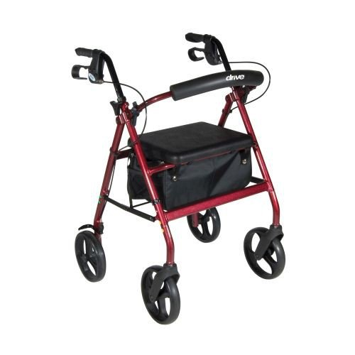 Aluminum Rollator with Removable Wheels