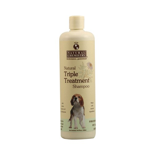 Natural Triple Treatment Shampoo for Dogs