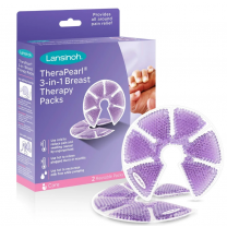 Lansinoh TheraPearl 3-in-1 Breast Therapy Gel Packs