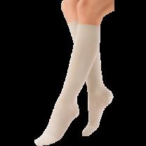 Jobst soSoft Women's Brocade Pattern Knee High Compression Socks CLOSED TOE 30-40 mmHg