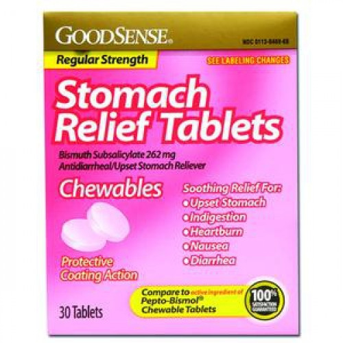 Stomach Relief Tablets