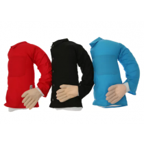 Boyfriend Arm Pillow: Red, Black and Blue