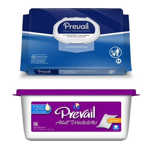 Prevail® Adult Washcloths with Lotion
