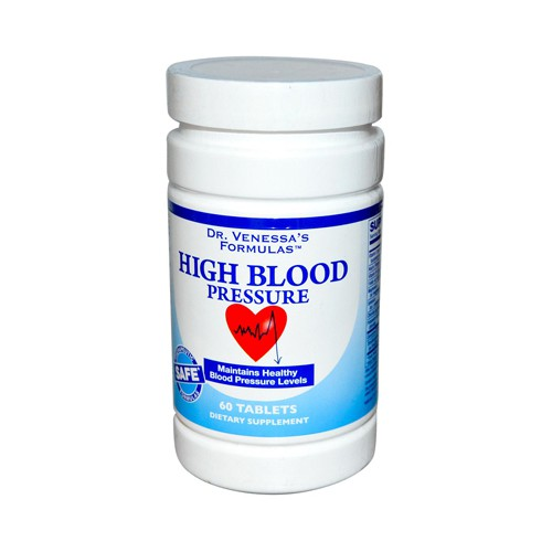 Dr Venessas High Blood Pressure Support Dietary Supplement