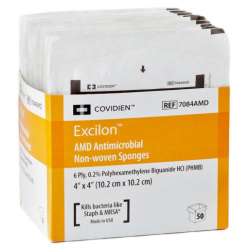 EXCILON 7084 Sponges Nonwoven 4x4 Inch 6 Ply