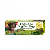 Eco Friendly Bags Dog Poo Bags Extra Giant Ties