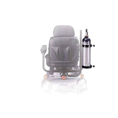 Oxygen Cylinder Caddy for Drive Scooters