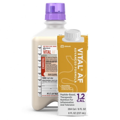 Vital AF 1.2 Cal, 8 oz Carton and 1000 mL Ready-to-Hang Bottle