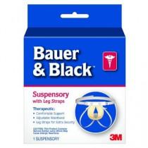 Jock Strap Athletic Supporter Bauer & Black 201161