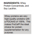 ProCel Protein Ingredients