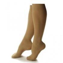 Beige Truly Sheer Fashion Knee Highs 20-30 mmHg