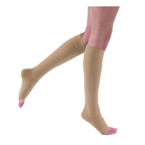 Jobst Relief Knee-High Open-Toe Compression Socks 20-30 mmHg