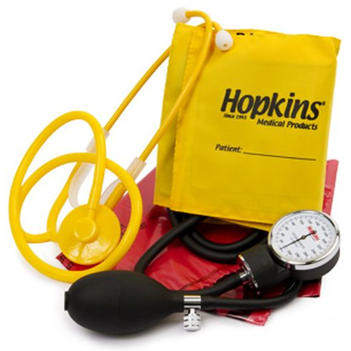 Iso-Vital Signs Kit with Disposable Stethoscope