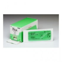 Suture with Needle Coated Vicryl Absorbable Undyed Braided Polyglactin