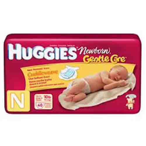Huggies UltraTrim Newborn Diapers by Kimberly Clark