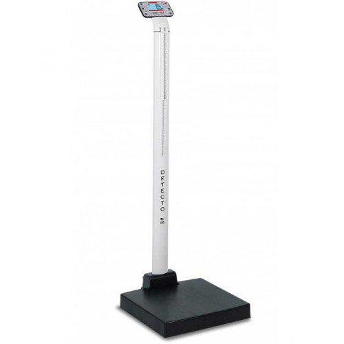 apex Digital Clinical Scale with Mechanical Height Rod