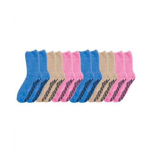 Silverts Non Skid Socks, Non Slip Socks, Hospital Socks