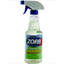ZorbX Unscented Odor Remover 16 Ounce Spray Bottle