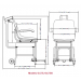 6475 Digital Chair Scale Dimensions