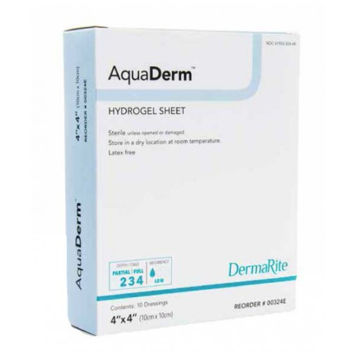AquaDerm Hydrogel Sheet