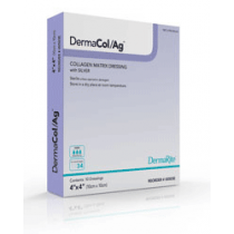 DermaCol Ag Silver Collagen Matrix Dressing