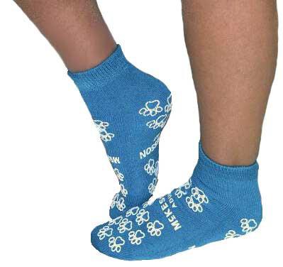 slipper socks medi pak above the ankle skid resistant tread sock 649