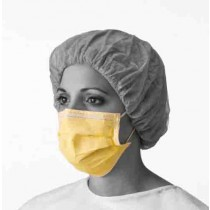 Prohibit Isolation Face Mask with Earloops, Latex Free