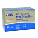 BD Ultra Fine III Short Insulin Pen Needles 320109