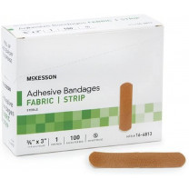 McKesson Fabric Strip Adhesive Bandages