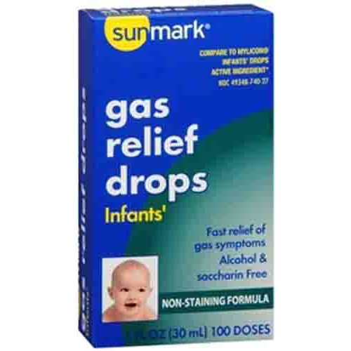 Sunmark Infants Gas Relief Drops