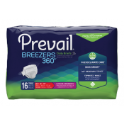 Prevail Breezers 360 Briefs Moderate to Heavy Absorbency | First Quality