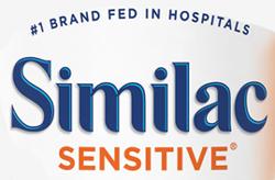 similac sensitive infant formula w iron b33
