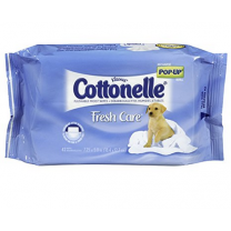 Cottonelle FreshCare Flushable Cleansing Cloths 42 Pack