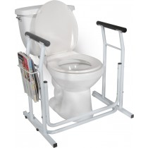 Toilet Safety Rail Stand Alone